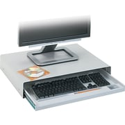"Innovera® Standard Desktop Keyboard Drawer, Light Gray, 3.54""(H) x 22""(W) x 15.59""(D)"