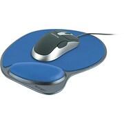 """Kensington  Wrist Pillow  Memory Foam Mouse Pad With Wrist Rest, Blue, 9""""(D)"""