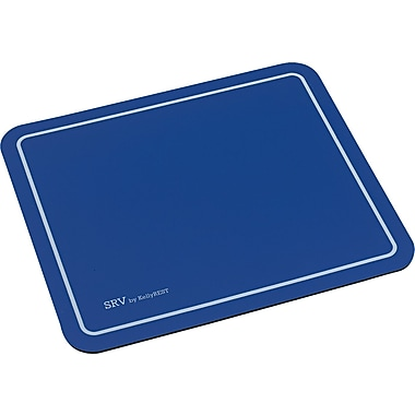Kelly Computer SRV Optical Mouse Pad, Blue, 7 3/4in.(D)