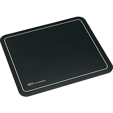 Kelly Computer SRV Optical Mouse Pad, Black, 7 3/4