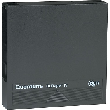 Quantum ® 1/2in. DLT-4 Cartridge, 1828'(L), 40 GB Native/80 GB Compressed