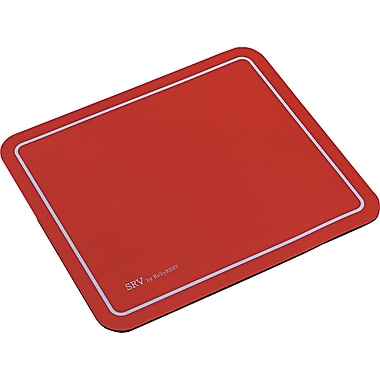 Kelly Computer SRV Optical Mouse Pad, Red, 7 3/4in.(D)