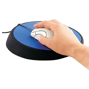 Allsop® Ergonomic Mouse Pad With Wrist Rest, Cobalt, 9