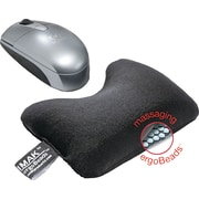 "IMAK ® ergoBeads 1 1/4"" Mouse Cushion Wrist Rest, Black"