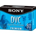 Sony® Premium Grade Digital Video Tape Cassette, 80 min