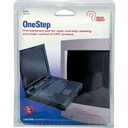 Read Right® OneStep® CRT Screen Cleaning Pads, 5 x 5, Cloth, White, 100/Box