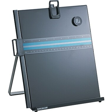 Kensington ® Metal Letter Size Copyholder, Black, 12 1/2