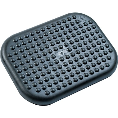 Rubbermaid® Commercial Tilting Footrest, Charcoal, 3 1/2in.(H) x 17 3/4in.(W) x 13in.(D)