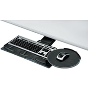 "Fellowes ® Adjustable Keyboard Tray, Black, 19""(W) x 10 5/8""(D)"