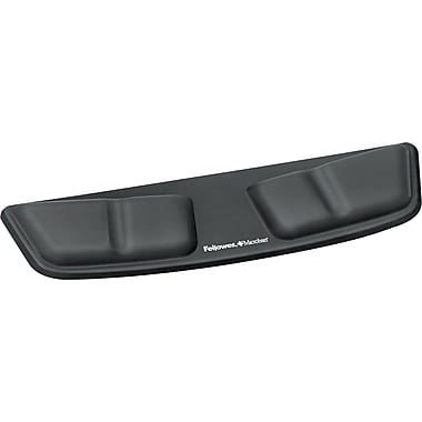 Fellowes® Memory Foam Laptop Palm Support, Black, 3 3/8in.(D)