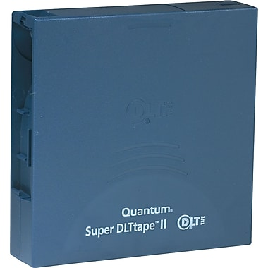 Quantum ® 1/2in. Super DLT II Cartridge, 2066'(L), 300 GB Native/600 GB Compressed