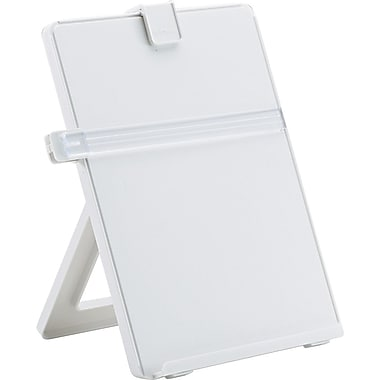 Fellowes ® Non-Magnetic Desktop Copyholder, Platinum, 11 1/4in.(H) x 10 1/8in.(W) x 7 3/8in.(D)