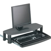 Kensington ® Over/Under Keyboard Drawer With SmartFit ® System, Black, 14 1/2(W) x 23(D)