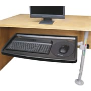 "Kensington® SnapLock™ Keyboard Tray With SmartFit™ System, Gray, 26""(W) x 13 1/2""(D)"