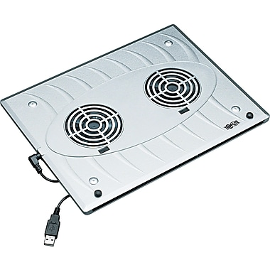 Tripp Lite Notebook Cooling Pad, Silver, 1/2in. x 9in.(D)