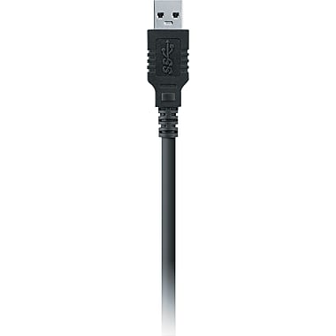 Belkin® 3'(L) Black USB 3.0 Cable Adapter