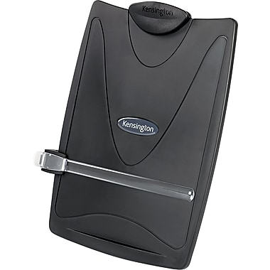 Kensington® InSight® Desktop Copyholder, Graphite, 14 1/2in.(H) x 11in.(W) x 3 1/2in.(D)