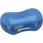 Innovera® Gel Mouse Wrist Rest, Blue, 3 1/8(D)