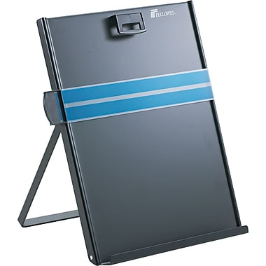 Fellowes® Metal Copyholder, Black, 11 3/8in.(H) x 10 5/8in.(W) x 8 3/8in.(D), 200 Sheet Capacity