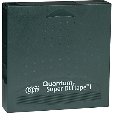 Quantum ® 1/2in. Super DLT Cartridge, 1828'(L), 110 GB Native/220 GB Compressed