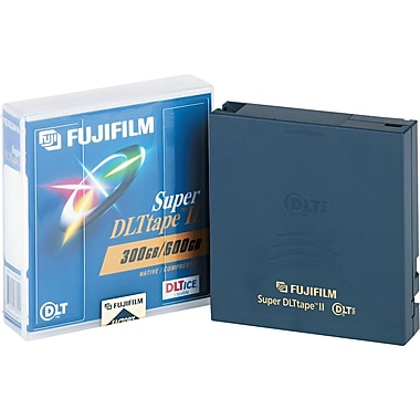 Fuji® 1/2in. Super DLT Cartridge, 2066'(L), 300 GB Native/600 GB Compressed