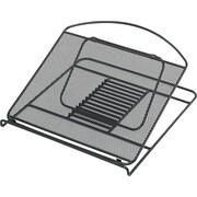 "Safco® Onyx Mesh Laptop Stand, Black, 2"" x 12 1/4"" x 12 1/4"" (2161BL)"