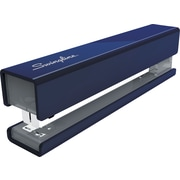 Swingline® Metal Fashion Stapler, 20 Sheet Stapling Capacity, Navy/Gray Accent