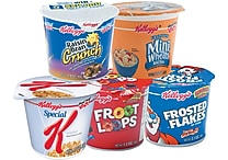 Kellogg's® Breakfast Cereal, 6 Cups/Box, Assorted Flavors