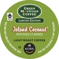 Keurig® K-Cup® Green Mountain® Island Coconut Coffee, Regular, 24 Pack