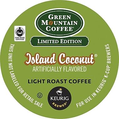 Keurig® K-Cup® Green Mountain® Island Coconut Coffee, Regular, 24 Pack