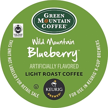 Keurig® K-Cup® Green Mountain® Wild Mountain Blueberry Coffee, Regular, 24/Pack