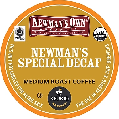 Keurig® K-Cup® Green Mountain® Newman's Own Special Blend Decaf Coffee,Decaffeinated, 24 Pack