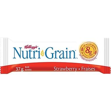 Kellogg's - Barre de céréales NutriGrain, fraises