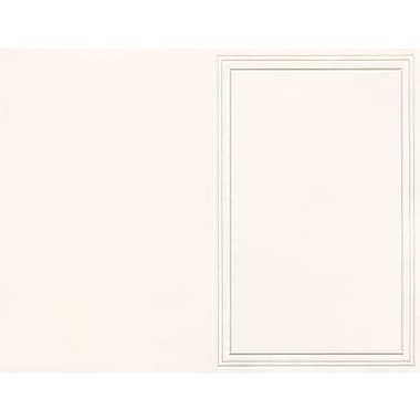 Great Papers® Triple Pearl Embossed Border Ivory Bulletin
