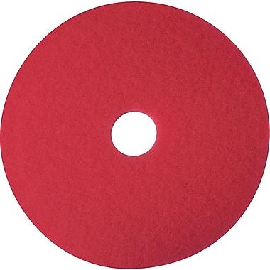 3M™ - Tampons de polissage Niagara pour planchers, 20 po, rouge, paq./5