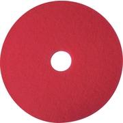 "3M™ Niagara Buffing Floor Pad, 20"", Red, 5/Pack"