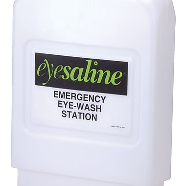 Flash Flood® Emergency Eyewash Station Refills, 1 gal, 4/Carton