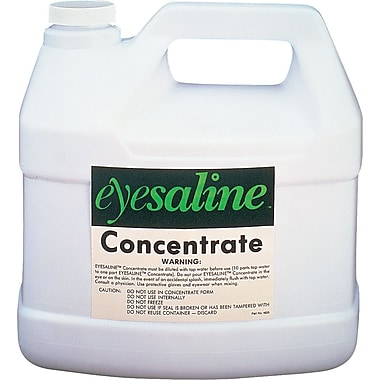 Eyesaline® Saline Concentrate Solution, 180 oz, 4/Carton