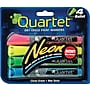 Quartet® Dry-Erase Paint Markers, Bullet Tip, Assorted Ink,