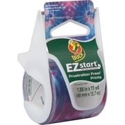 "Duck EZ Start® Fashion Packaging Tape, Tie Dye, 1.88"" x 15 yd"
