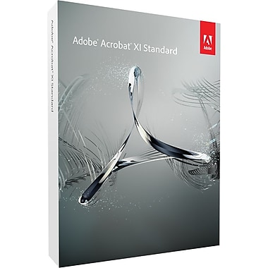 Adobe Acrobat Standard XI for Windows (1-User) [Boxed]