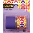 Scotch® Brand Duct Tape, Love Note/ Violet Purple, 2/Pack , 1.42in. x 5 Yards