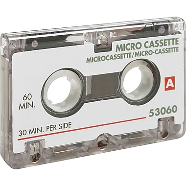 Sparco SPR53060 60 Minute Dictating Microcassette