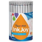 Paper Mate® InkJoy® 700 Ballpoint Retractable Pens, Medium Point, White Barrel/Assorted Ink Colors, 36/Pack