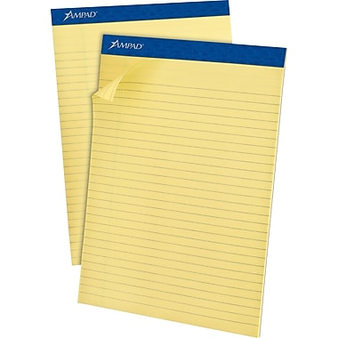Ampad® Recycled Notepad, 8-1/2