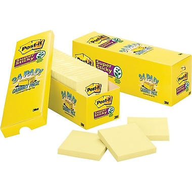 Post-it® Super Sticky Cabinet Pack, 3