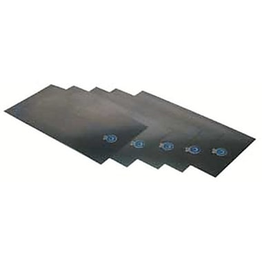 Precision Brand® Plain Low Carbon Steel Shim Stock Flat Sheet, 0.005in. x 6in. x 18in.