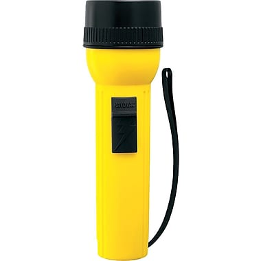 Industrial™ 2 D Yellow Heavy Duty Utility Flashlight