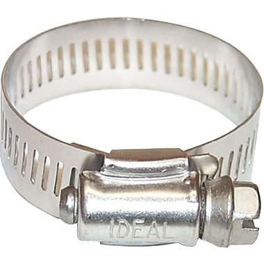 Combo-Hex® 201/301 Stainless Steel 64 Worm Gear Drive Hose Clamp, 1/2 - 1 1/4 in Capacity