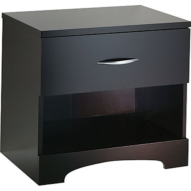 South Shore City Life Collection Night Stand, Chocolate
